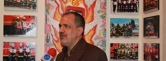 """جشنواره یادمان آتش نشان فداکار """"امید عباسی"""""""