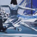 اثر طاهره صمدی نمایشگاه گروهی تعلیق