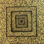 اثر خط نقاشی در نمایشگاه دستخوش